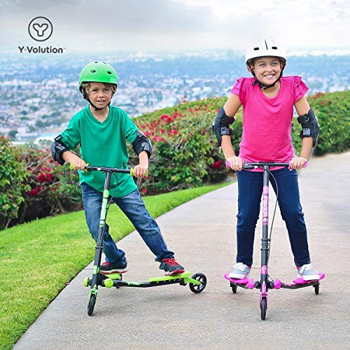 YVolution Kids y Fliker A1 Air-Innovative 3 Ruedas Scooter