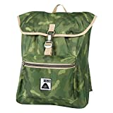 Poler Men's Field Pack Backpack, Green Camo, One Size