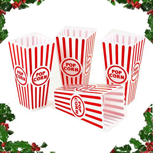 Adorox Plastic Reusable Popcorn Containers product image