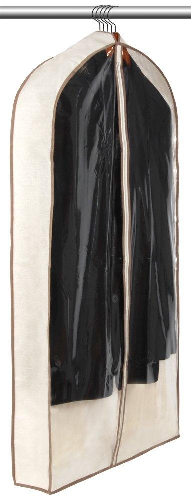 PRO-MART DAZZ Canvas Gusseted Suit Garment Bag with Cedar