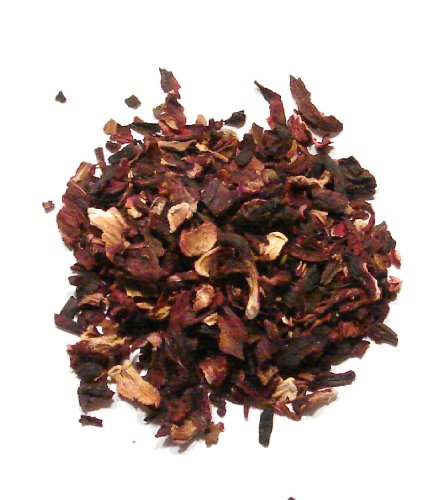 Hibiscus Blooms - 1 Pound - Bulk Hibiscus Tea Flowers, Dried and Cut by Denver (Hibiscus Spice)