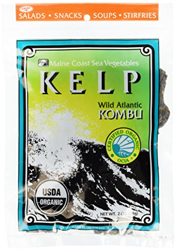 Maine Coast Kelp & Kombu Bag Organic, 2 oz