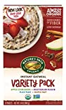 Nature's Path Organic Instant Hot Oatmeal, Variety Pack, 14 Ounce (Pack of 6) For Sale