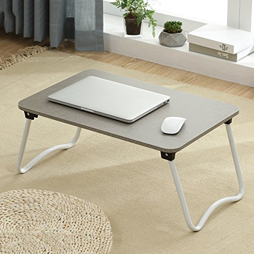 PM Folding tables Tables Folding Laptop Desk Table Stand, Computer Laptop Stand,Foldable Breakfast Tray,Notebook Laptop Desk,Lazy Table Bed Desk,Stahlrahmen ,Portable Folding (Color : 9# -583827) by PM Folding tables