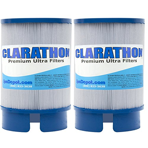 (Clarathon 2 Filters for SofTub - 5020 Replacement fits 2009+ Spa Models - 2-Pack)