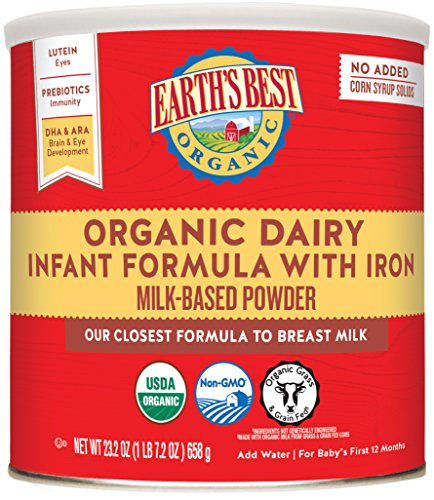 Earth's Best Dairy Baby Formula - Powder - 23.2 oz from Earth's Best