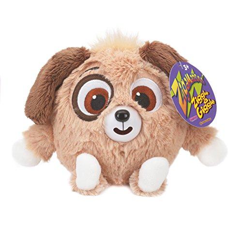 Zigamazoo Perro de Juguete de Felpa (Brown): Amazon.es: Juguetes y juegos