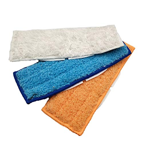 CRutchField Microfiber Washable Cleaning Pad Wet & Damp & Dry Sweeping Pad Mopping Pads for 240 241 by CRutchField