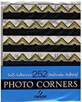 1 X Self-adhesive Photo Corners Gold 252/Pk