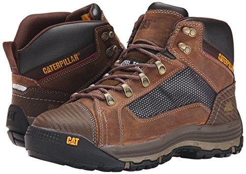 Caterpillar Men's Convex Mid Steel Toe Work Boot, Dark Beige, 11 M US by Caterpillar (Image #6)