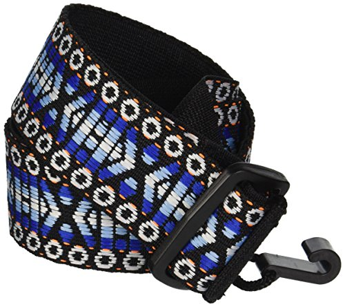 - Performance Plus Classical Guitar/Ukulele Strap, Woven Tapestry/Hootenanny Patterns, GS5-BL - Midnight Sky Blue