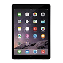 Apple iPad Air 2 MGL12LL/A 9.7 inch Screen Size Tablet, 16 GB, Wi-Fi (Space Gray) (Certified Refurbished)