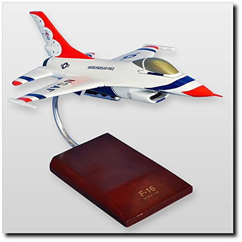 Planejunkie Aviation Desktop Model - Lockheed Lockheed F-16A Thunderbirds Model