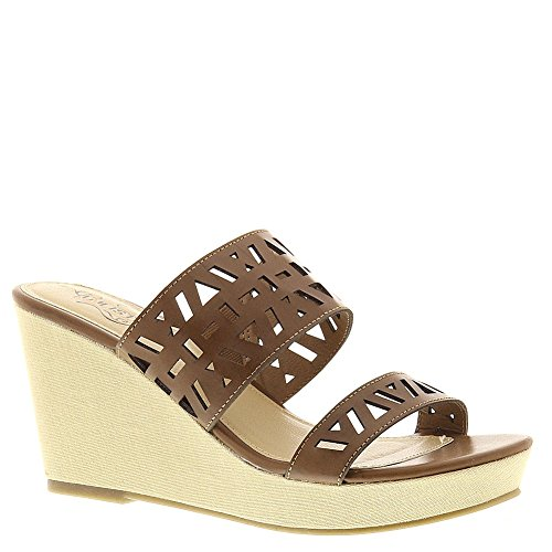 Womens In Cole Clip Luggage Wedge Kenneth Unlisted Sandals qB6qI