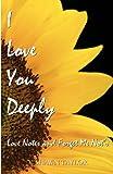 I Love You Deeply, V Taylor, 1475013051