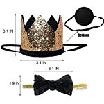 Perktail-Cute-Pet-Birthday-Crown-Hat-and-Bow-tie-Collar-Set-for-Dog-Cat-Birthday-Party-Supplies-Purple