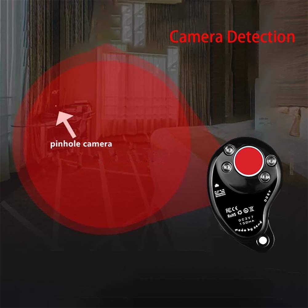 Detector de Errores Anti espía, Detector de radiofrecuencia Profesional, Detector inalámbrico de cámara espía Detector de espías Dispositivo GPS Detector de ...