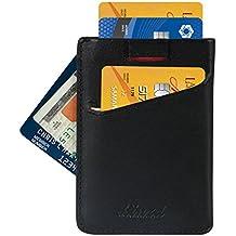 Minimalist Wallet, RFID Blocking Sleeves Credit Card Holder, Front Pocket Wallet