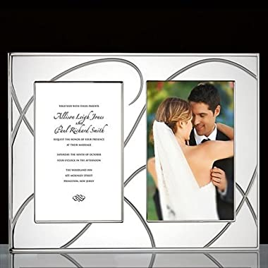 Lenox Bridal Adorn Double Invitation Frame