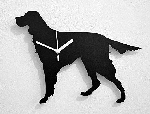 Gordon Setter Dog - Wall Clock (Gordon Setter Silhouette)
