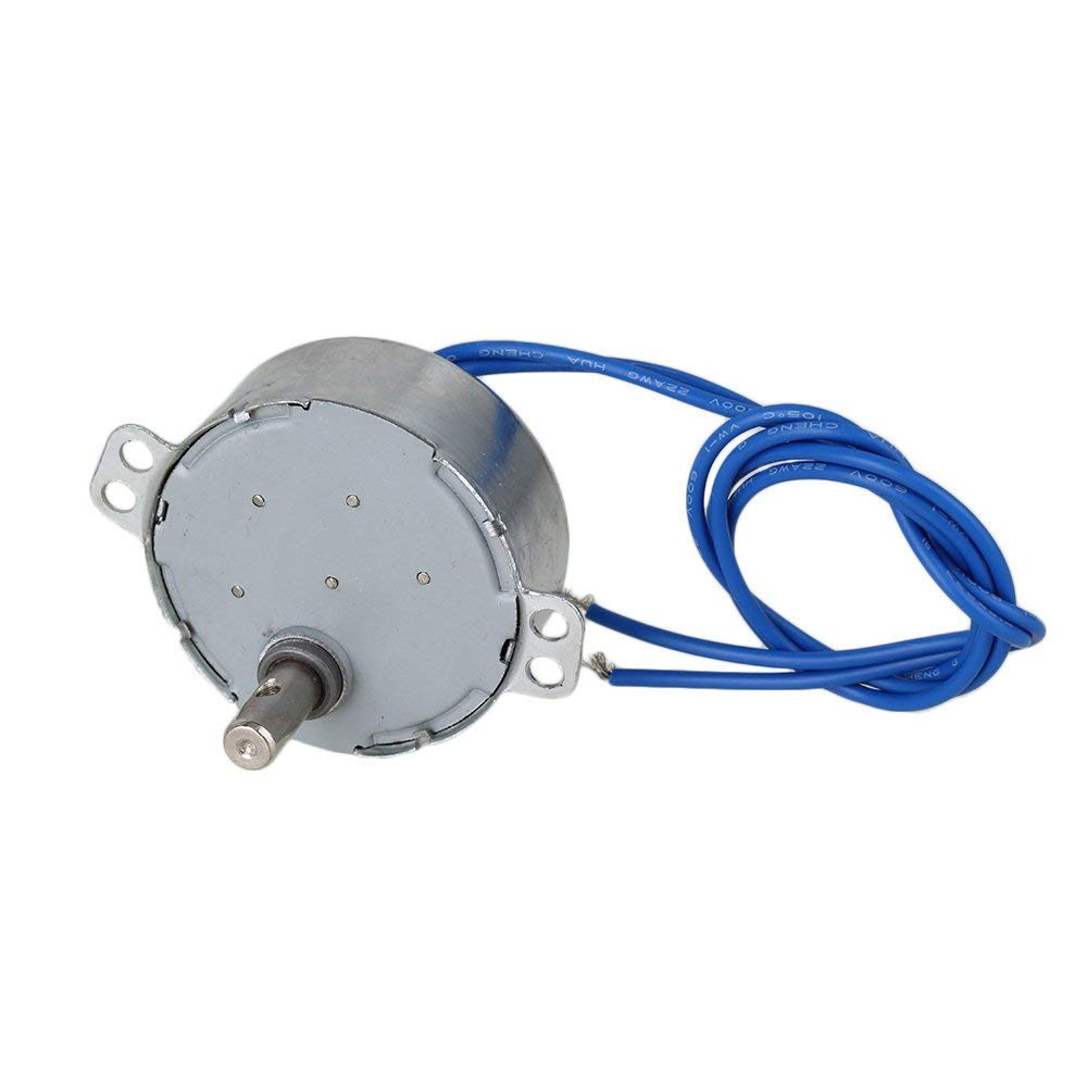 Afordable TYC-50 12-16 RPM AC110V CW/CCW Synchronous Electric Motor with 7mm Shaft Dia homeswitch