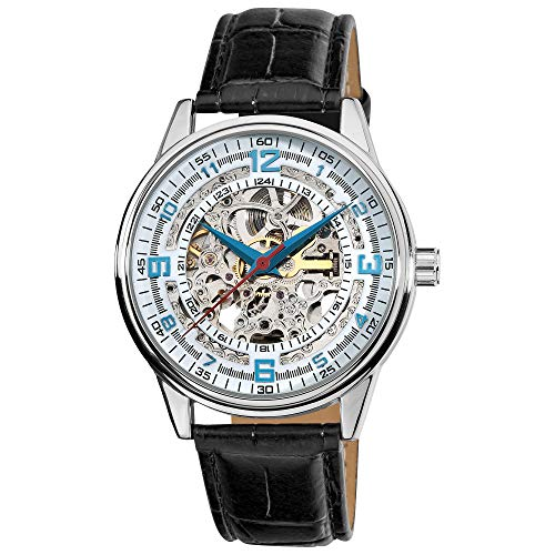 Akribos Automatic Skeleton Mechanical Men's Watch -