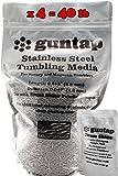 Stainless Steel Tumbling Media Pins - 0.047'' Diameter, 0.255'' Length (40 lb Pack)