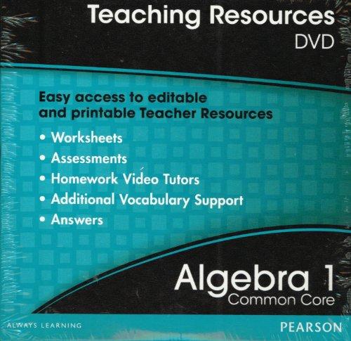 Teaching Resources DVD Algebra 1 ISBN 013318563X