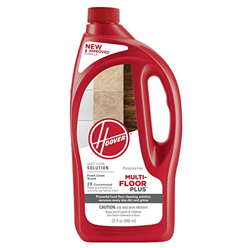 Hoover AH30425NF Hard Floor Cleaning Solution, Multi-Floor 2X Concentrated Formula, 32 oz