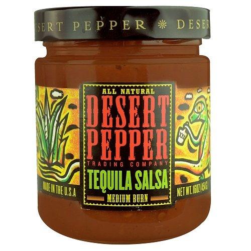 Desert Pepper Trading Co Desert Pepper Tequila Salsa (6x16Oz)
