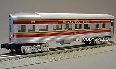 LIONEL SANTA FE CHIEF OBSERVATION CAR 3261 o gauge 6-30178 passenger 6-35246 from Lionel
