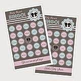 3 sets of 16 Gender Reveal Party Bingo