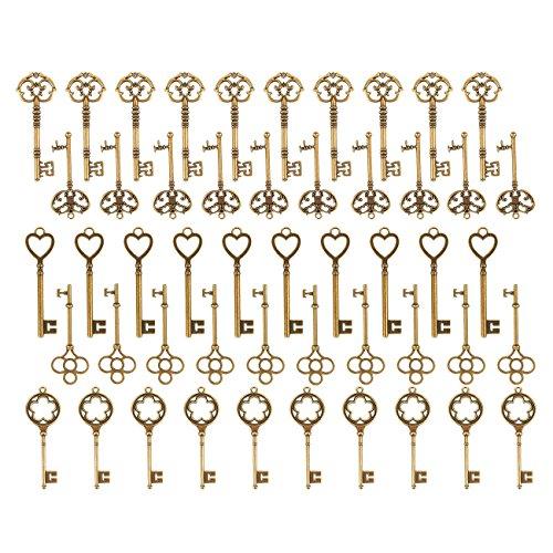 5 Antique Brass Latch - 6