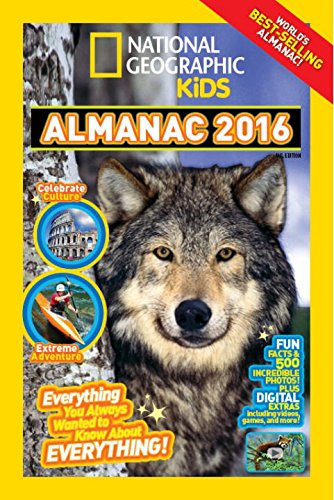 Read Online National Geographic Kids Almanac 2016, Canadian Edition: Everything You Always Wanted to Know About Everything! pdf epub