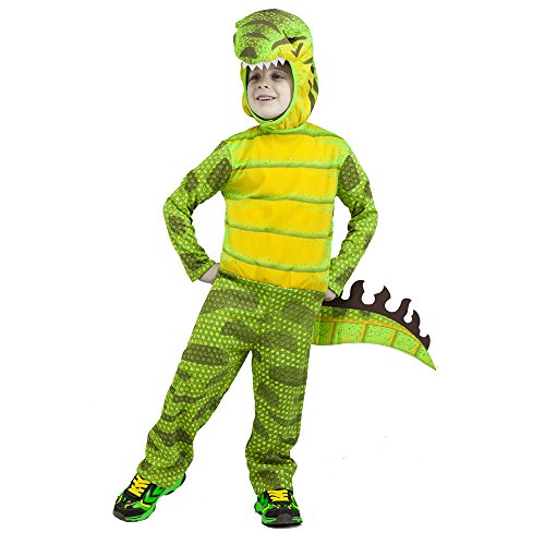 5 Year Old Twin Halloween Costumes (Fun World Costumes Baby Boy's T-Rex Toddler Costume, Green,)