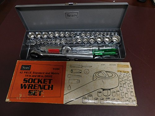 Sears 42 Piece General Service Socket Wrench Set