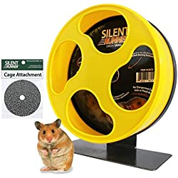 """Silent Runner 9"""" - Exercise Wheel + Cage Attachment"""