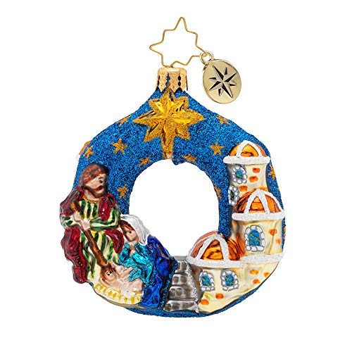 Christopher Radko Hand-Crafted European Glass Christmas Ornaments, The North Star from Christopher Radko
