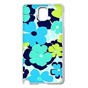 Blue Flowers Customized Cover Case for Samsung Galaxy Note 3 N9000,custom phone case ygtg611869 by lolosakes
