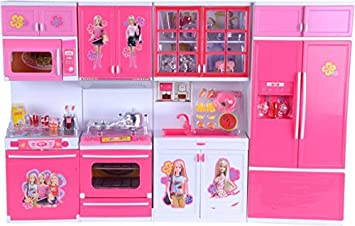 Buy Tabu Toys World Little Chef Kitchen Play Set With Light And Sound Cooking Kitchen Play Set 4fold Online At Low Prices In India Amazon In