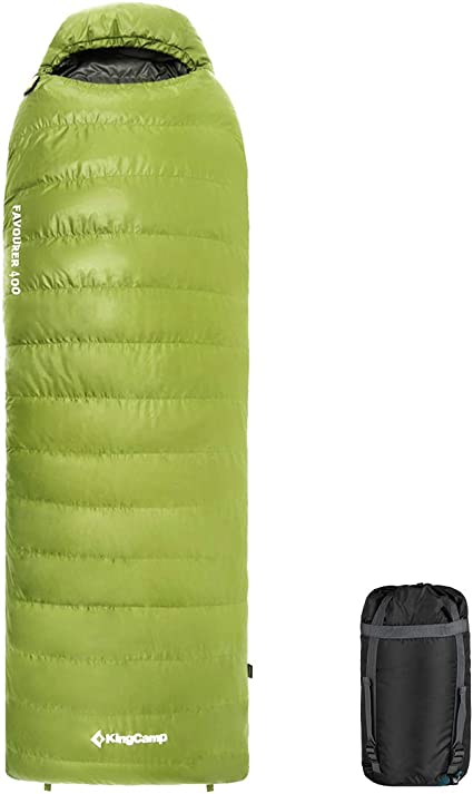 Kingcamp 2-in-1 Double Sleeping Bag Compression Stuff Sack Bag Lightweight Camp