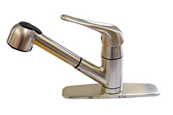 Matco Faucet Cl 150ss Classic Single Handle Kitchen Pull Out Faucet