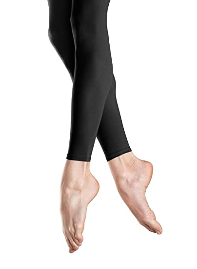 0e14de55e1892 Image Unavailable. Image not available for. Color: Bloch Dance Girls Endura  Footless Tights,Black ...