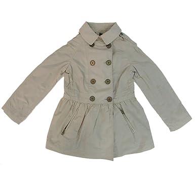 Amazon.com  Burberry Children Girls Mini Mantlebury Trench Coat ... bbbc302c2a9e