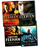 img - for Christine Feehan GhostWalkers Series 4 Books Collection Pack Set RRP:  38.24 Lair of the Lion, Dark Nights, Samurai Game: A GhostWalkers Novel, Dark Peril (''Dark'' Carpathian Series) book / textbook / text book