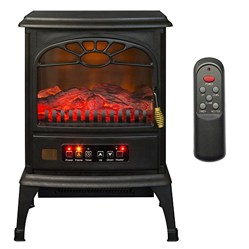 LifeSmart 3-Sided Infrared Electric Stove Heater