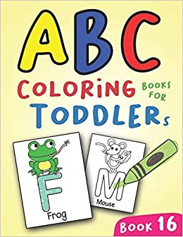 Abc Coloring Books For Toddlers Book16 A To Z Coloring Sheets Jumbo Alphabet Coloring Pages For Preschoolers Abc Coloring Sheets For Kids Ages 2 4 And Kindergarten A To Z Coloring Pages