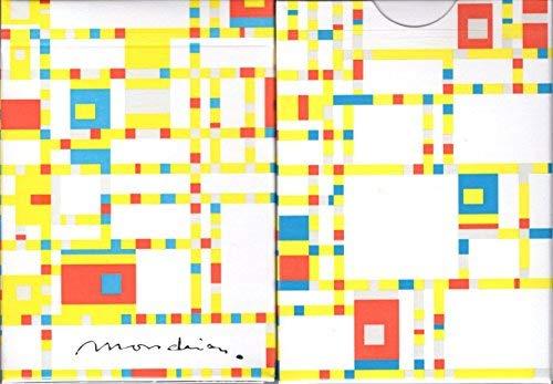 Got Magic? Mondrian Broadway Playing Cards Poker Size Deck USPCC Custom Limited Edition