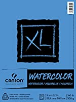 """XL Watercolor Pad, 9""""X12"""" Fold Over"""