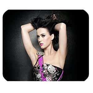 Mystic Zone Personalized Katy Perry Rectangle Mouse Pad (Black) by ruishername